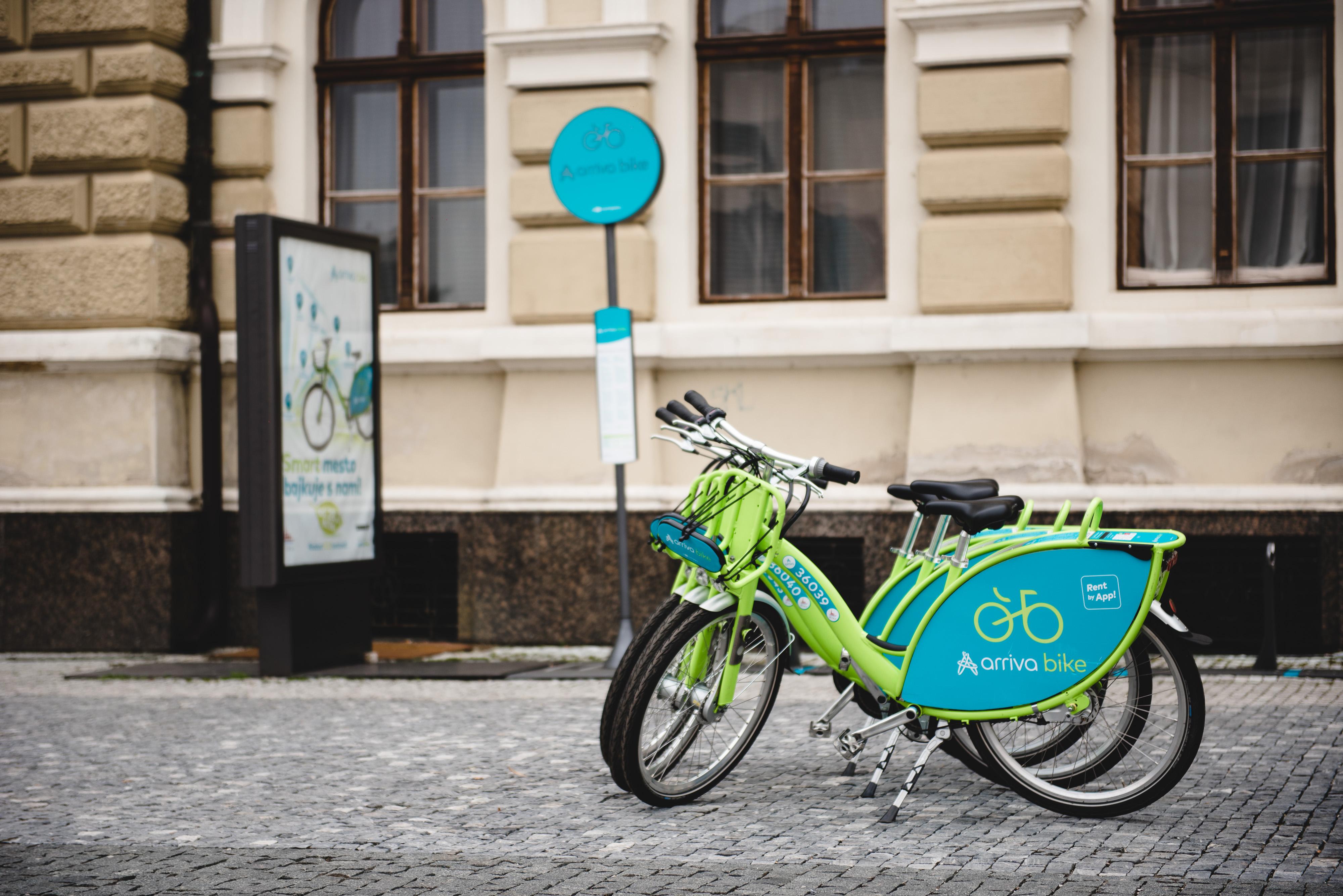 Zdieľané bicykle arriva bike môžu Nitrania - Kam v meste  2c66eea7fa8